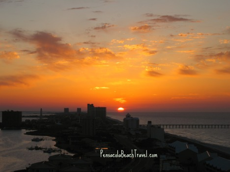 Beautiful morning on Pensacola Beach
